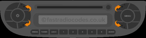 Remove Radio To Find Radio Code Serial