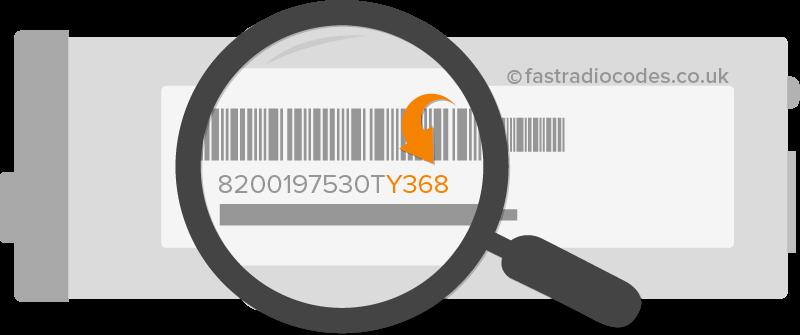 locate renault serial number 3